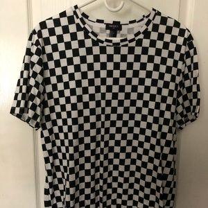 Checkered Forever 21 Shirt